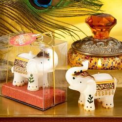 Candela a forma di elefantino indiano