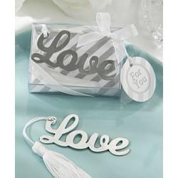 Segnalibro con scritta Love