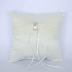 Cuscino portafedi con strass