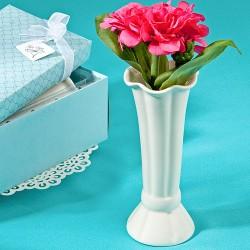 Vaso per fiori bianco classico