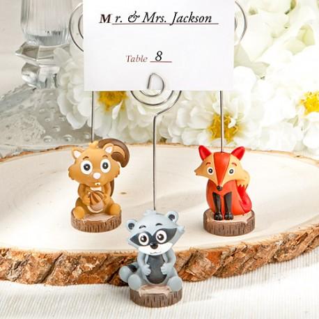 Segnaposto Matrimonio Bambini.Segnaposto Per Bambini Con Animali Del Bosco