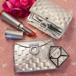 Specchietto a forma di borsetta
