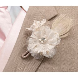 Boutonniere in stile country