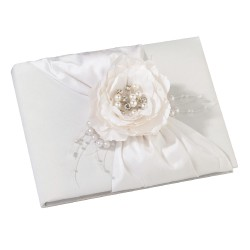 Guestbook shabby chic color crema