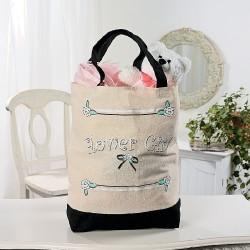 Wedding bag ragazza dei fiori