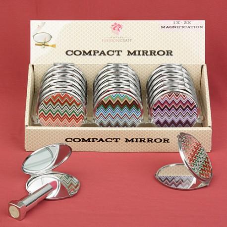 Specchietti con linee colorate set 18 pezzi