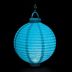 Light Blue Light Up Lantern