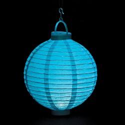 Light Blue Light Up Lantern