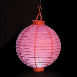 Lanterna luce rosa