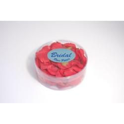 Petali di rosa satinati rossi