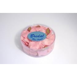 Petali di rosa satinati rosa shock