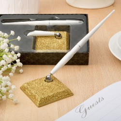 Golden Elegance Collection Pen Set From Solefavors