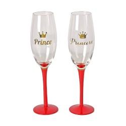 Flutes Prince e Princess set 2 pezzi