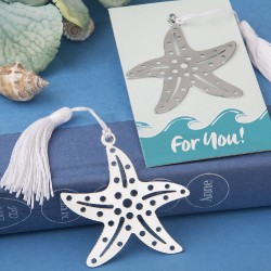 Segnalibro a forma di stella marina