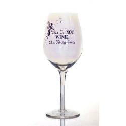 Calice di vino a tema fata