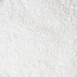 Sabbia decorativa bianca luccicante 703 g