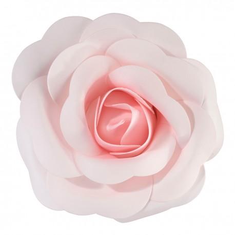Decorazione a forma di rosa rosa