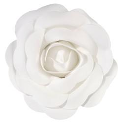 Decorazione a forma di rosa bianca