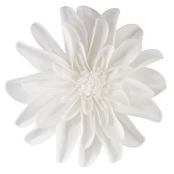 Decorazioni floreali bianche set 2 pezzi