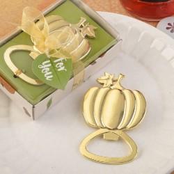 Apribottiglie a forma di zucca dorata