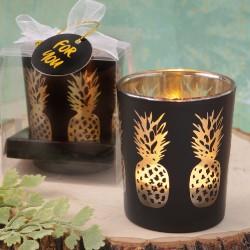 Portacandele a tema ananas