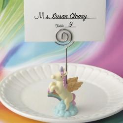 Segnaposto e segnatavolo con unicorno