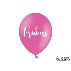 Pallincino fucsia con scritta Princess