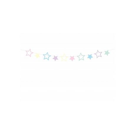 Festoni decorativi a forma di stelle