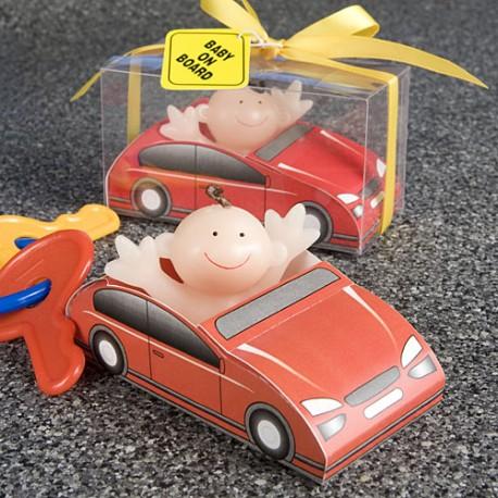 Candela bambino a bordo di un auto