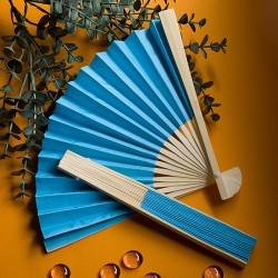Ventaglio blu elegante