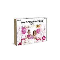 Set di decorazioni per festa a tema princess