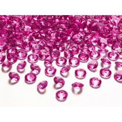 Diamanti decorativi fucsia shock