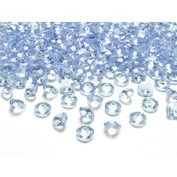 Diamanti decorativi blu cielo