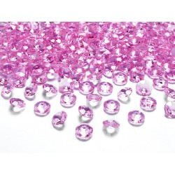 Diamanti decorativi fuxia shock