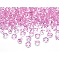 Diamanti decorativi fuxia light