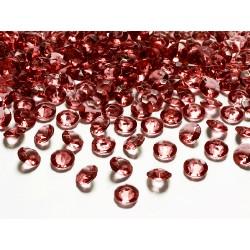 Diamanti decorativi rosso intenso