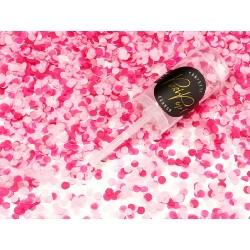 Coriandoli rosa confezione da 12 pezzi