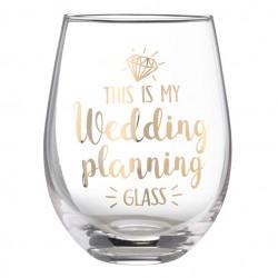 Bicchiere per il matrimonio