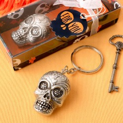 Sugar Skull Bottle Key Chain From Our Day Of The Dead Collection