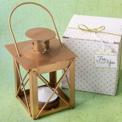 Mini lanterna dorata