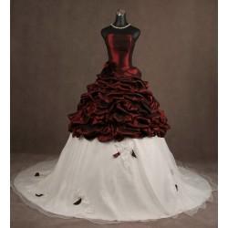 Abito da sposa e cerimonia principesco Mod. Maria Olinda