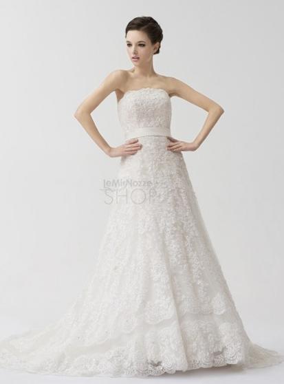 Vestito da sposa classico