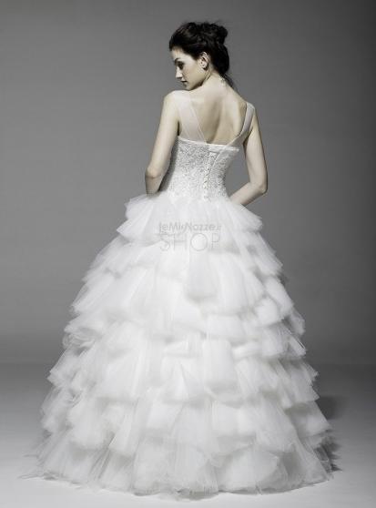 Vestito da sposa principesco