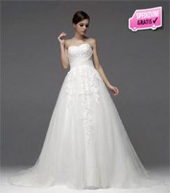 Vestito da sposa con spedizioni gratuite