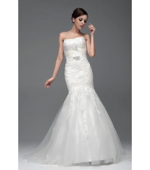 Immagine dell'abito da sposa da principessa modello Antonia
