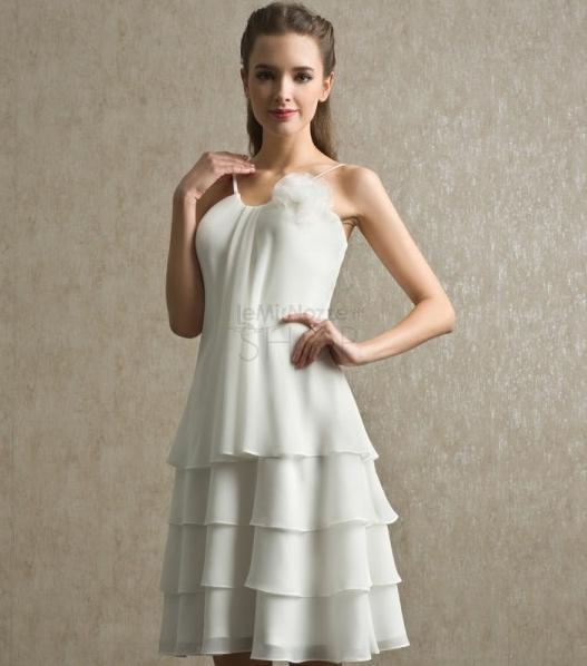 Immagine dell'abito da sposa corto modello Debora
