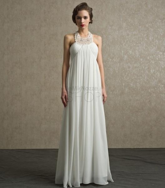 Immagine dell'abito da sposa stile impero modello Dina