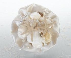 Bouquet sposa conchiglie