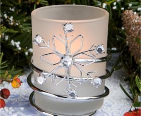 candele matrimonio inverno