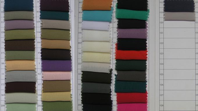 Tabella dei colori per Chiffon n. 2